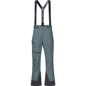 Bergans Knyken Insulated Loosefit Pants Youth, forest frost
